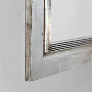 Miroir 140 Cm : miroir venise en bois patin argent 140cm x 80cm ~ Teatrodelosmanantiales.com Idées de Décoration