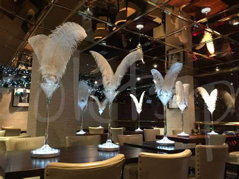 dual feather decoration hire  lets party