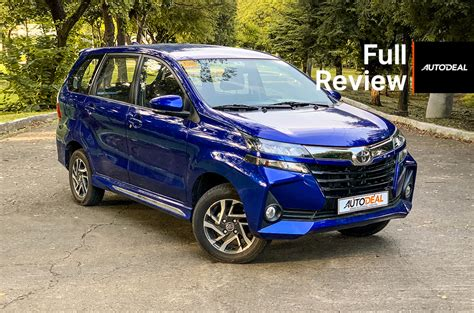 Review Toyota Avanza 2019 by 2019 Toyota Avanza 1 5 Review Autodeal Philippines