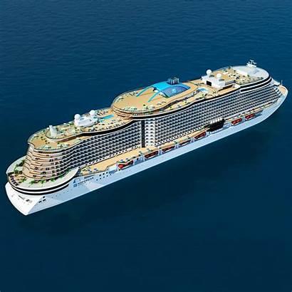 Leonardo Project Cruise Ship Ships Norwegian Class