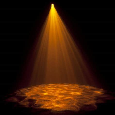 Flow Lights by American Dj 12w Led Gobo Projector Ir With 4 Gobos Color