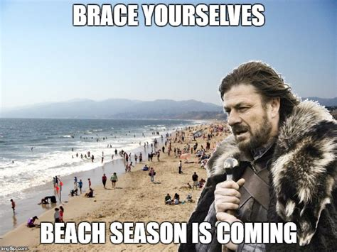 Beach Meme - brace yourselves x is coming imgflip