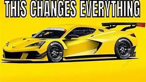 C8r Mid Engine Corvette Engine Analysis Breakdown  Go