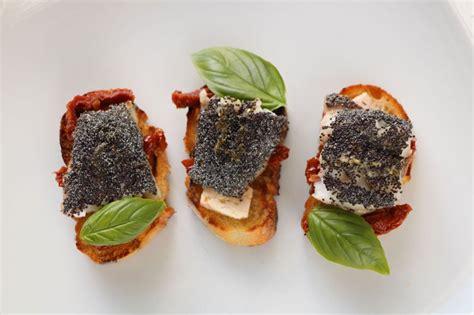 id馥s recettes cuisine cuisine facile com bouchées de rouget aux graines de pavot