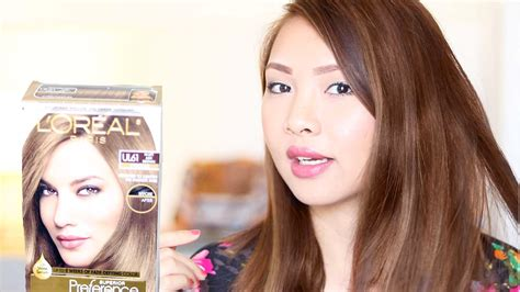 Loreal Ul61 How To Dye Dark Hair To Ash Brown