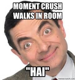 Mr Bean Memes - mr bean crush face by michael tims