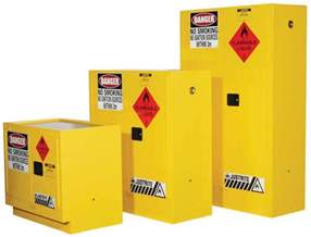 justrite flammable liquid storage cabinet 100l safetyquip