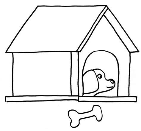 coloriage d un chien dans sa niche sur t 234 te 224 modeler