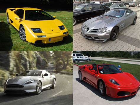 famous cars 4 impressive sports cars owned by cars dubai