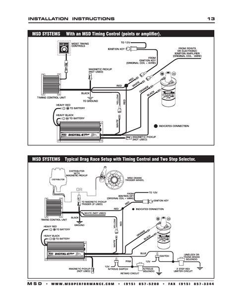 msd wiring diagram digital 6 plus wiring diagram