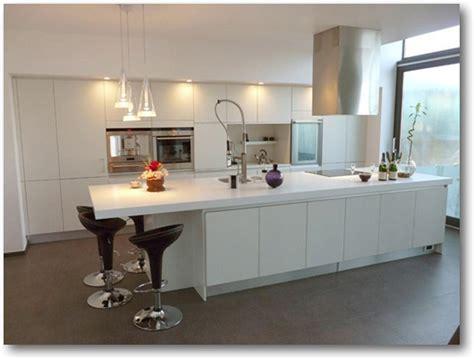 cuisine avec bar stunning exemple de cuisines americaines pictures design