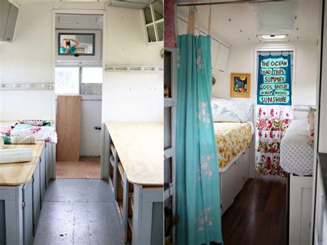 family effort recreates charming vintage avion trailer