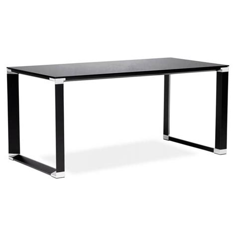 bureau verre trempé noir bureau verre trempe noir 28 images bureau d angle