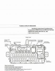 1995 Honda Civic Fuse Box Diagram Under Hood Di 2020