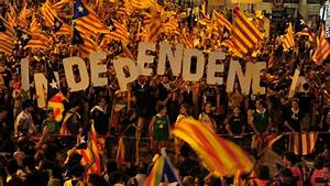 Throngs push Catalan independence amid Spain's economic ...