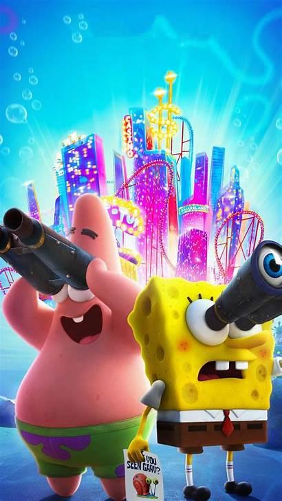 Spongebob Run Sponge Movie Iphone Wallpapers Android