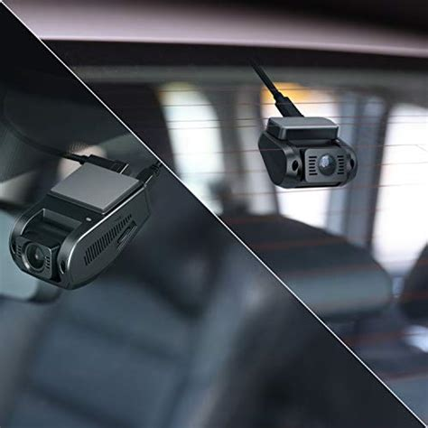 aukey dual dash cam hd p front  rear camera car