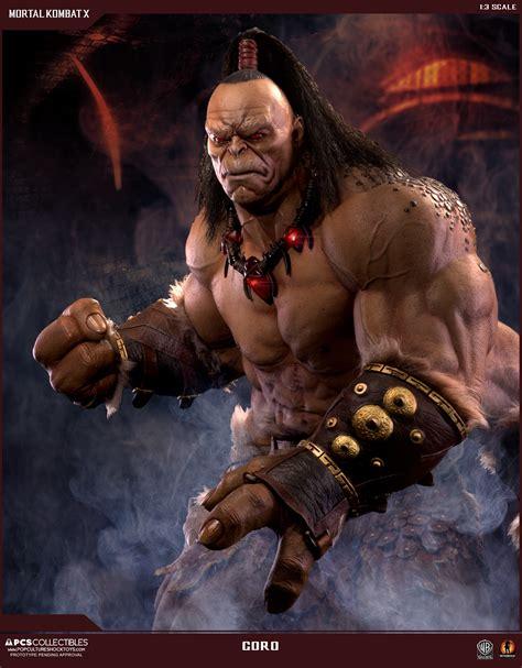 Mortal Kombat X Goro Statue Photos And Pre Order Info