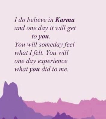 Karma When You Hurt Someone