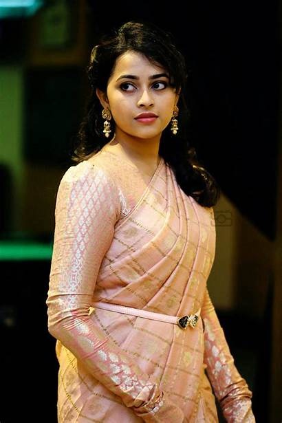 Divya Sri Tamil Actress Saree Photoshoot Stills