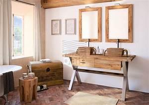 Meuble Salle De Bain Suspendu : meubles de salle de bains suspendus bois collin arredo ~ Melissatoandfro.com Idées de Décoration