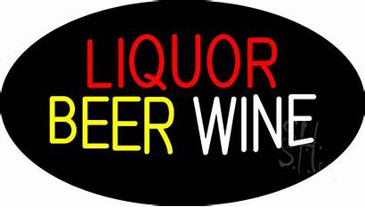 Beer Wine Neon Liquor Sign Signs Animated