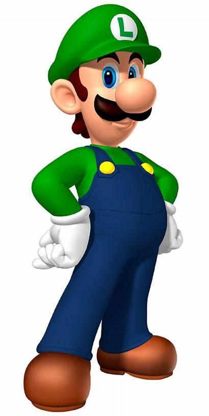 Luigi Bros Mario Wikia Clipart Personajes Juegos