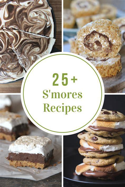 s mores recipes amazing s mores dessert recipes the idea room