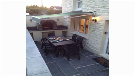 BBQ Area   Welcome to Station Hall Holiday Cottage