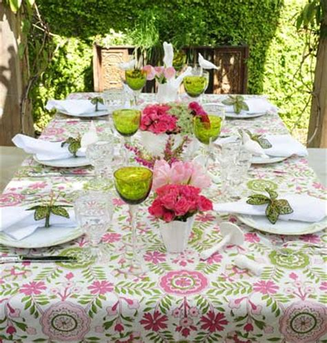 Garden Southern Setting by Anatomy Of A Dinner 187 Tablescapes