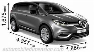 Dimension Scenic 4 : dimensions of renault cars showing length width and height ~ Gottalentnigeria.com Avis de Voitures