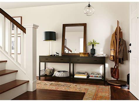Entryway Consoles - entryway with berkeley console table room board