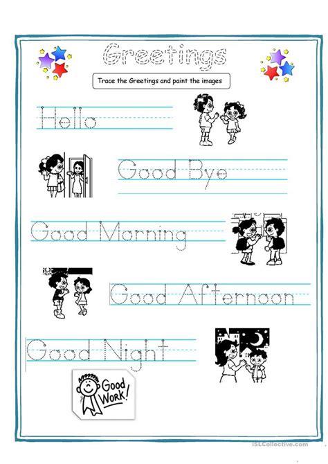kids worksheet  esl printable