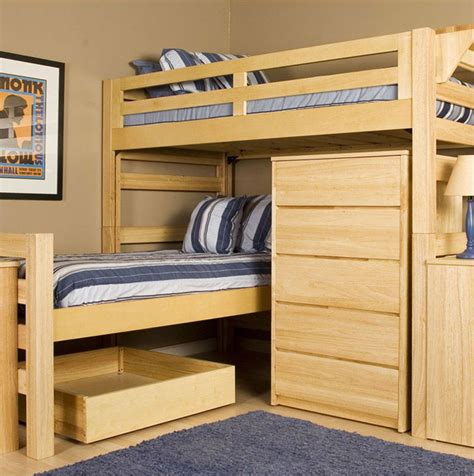 modern bunk beds interiorzine