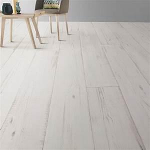 sol pvc keywest blanc artens textile l4 m leroy merlin With parquet flottant blanc leroy merlin