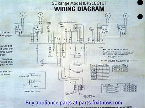 ge range jbp21bc1ct wiring diagram fixitnow