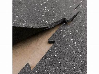 Rubber Interlocking Tiles Floor
