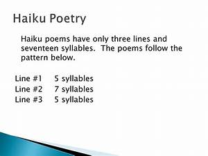 Haiku, Tanka, Cinquain, and Diamante - ppt video online ...