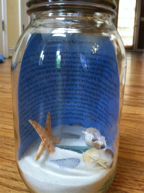 starfish story   mason jar starfish story teacher