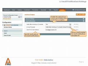 Order Archive Magento Extension By Amasty