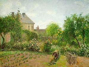 Eragny Art De Vivre : jardin de l artiste eragny huile sur toile de camille ~ Dailycaller-alerts.com Idées de Décoration