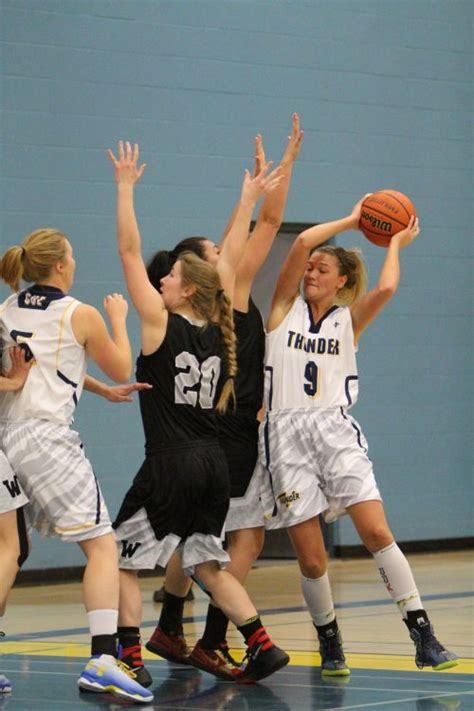 thunder womens basketball pair ws concordia