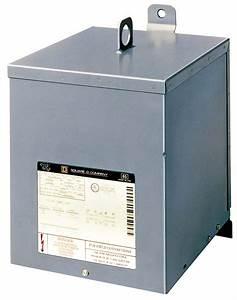 Square D 7s1f 7 5kva 240 X 480  240 Volt Dry