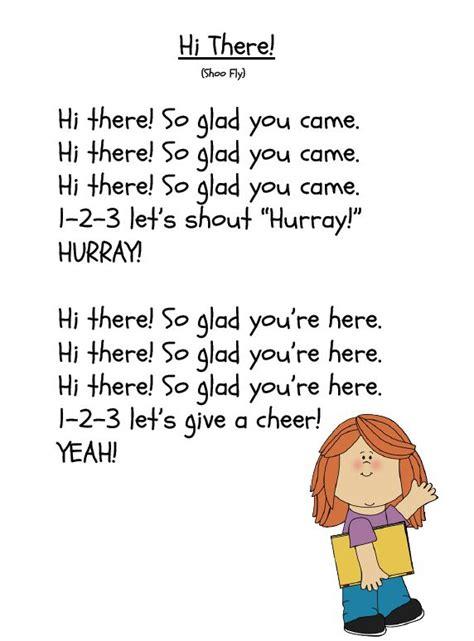 morning song freebie poem songs and preschool 175 | a260092659d5defa8095f464de490480 kindergarten songs preschool songs