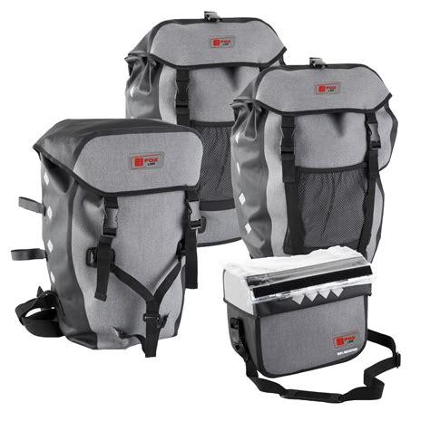 fahrrad packtaschen wasserdicht dreifachtasche lenkertasche gep 228 cktr 228 gertasche fahrradtasche wasserdicht ebay