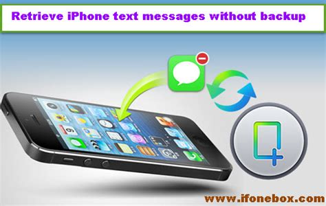recover iphone photos after restore without backup how to restore iphone deleted text messages without backup 1143
