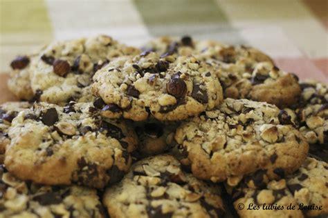 cuisine cours recette cookies chocolat noisettes les lubies de louise 4 sur 5 les lubies de louise