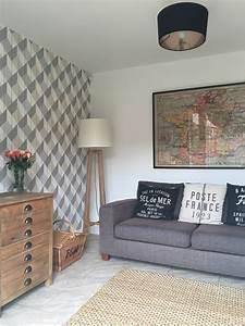 Grey Wallpaper Living Room Uk
