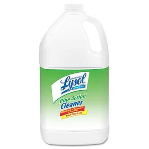 lysol 174 disinfectant pine action cleaner