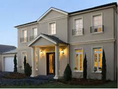 Country House Facade Design Contemporary Elegant Facade Pillars Portico Facades Pinterest